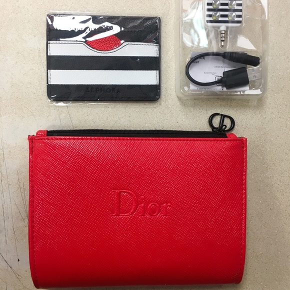 270650701ee9 Dior cosmetic bag and ect